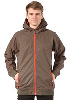 CLEPTOMANICX Burner Bonded Jacket dark olive