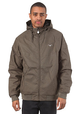 CLEPTOMANICX Burner Hemp Jacket dark olive