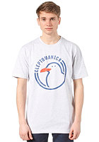 CLEPTOMANICX Circle Gull S/S T-Shirt ash