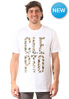 CLEPTOMANICX Copy Kawumm S/S T-Shirt white