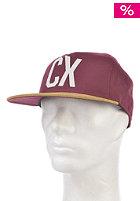 CLEPTOMANICX CX Empire 5 Panel Cap rhabarber