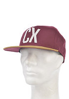 CLEPTOMANICX CX Empire Cap rhabarber