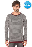 CLEPTOMANICX Dem Stripes Knit Sweat pirate black