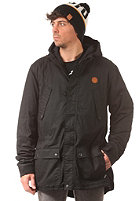CLEPTOMANICX Doppla Coat 3.0 black