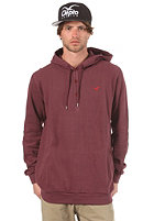 CLEPTOMANICX Emilio Hooded Sweat burgundy