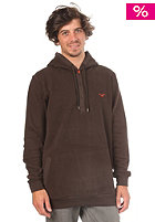 CLEPTOMANICX Emilio Hooded Sweat dark brown