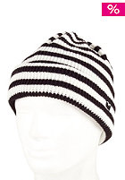 CLEPTOMANICX Flee Stripe Beanie black/white