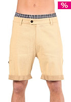 CLEPTOMANICX Grand Dad Shorts jigga beige