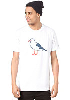CLEPTOMANICX Gull Basic S/S T-Shirt white
