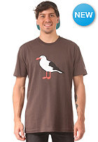 CLEPTOMANICX Gull S/S T-Shirt dark brown