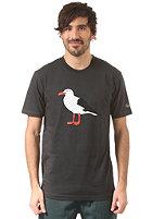 CLEPTOMANICX Gull S/S T-Shirt pirate black