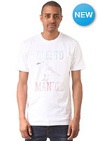 CLEPTOMANICX Gull Typo S/S T-Shirt white