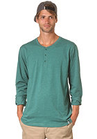 CLEPTOMANICX Icon Gull Longsleeve heather alpine green