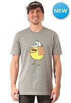 CLEPTOMANICX John Lemon S/S T-Shirt moss gray