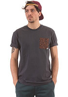 CLEPTOMANICX Kawumm Pocket S/S T-Shirt pirate black