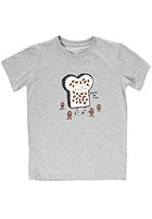 CLEPTOMANICX Kids Beans on Toast S/S T-Shirt heather gray