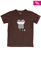 CLEPTOMANICX Kids St. Pauli Toast S/S T-Shirt st. pauli brown