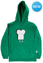 CLEPTOMANICX Kids Toast Hooded Sweat jolly green