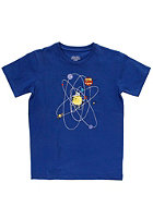 CLEPTOMANICX Kids Zonnensystem S/S T-Shirt soda blue