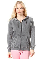 CLEPTOMANICX Kosmo Hooded Zip Sweat heather black