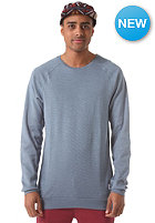 CLEPTOMANICX Larry 2.0 Sweatshirt blue