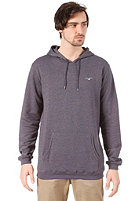 CLEPTOMANICX Ligull 3000 Hooded Sweat heather dark navy