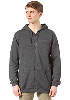 CLEPTOMANICX Ligull 3000 Hooded Zip Sweat heather black
