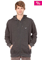 CLEPTOMANICX Ligull Hooded Zip Sweat heather dark gray