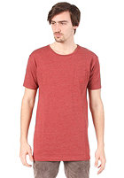 CLEPTOMANICX Ligull Long S/S T-Shirt heather dried tomato
