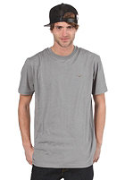 CLEPTOMANICX Ligull Relaxed S/S T-Shirt heather moon gray