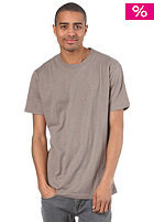 CLEPTOMANICX Ligull Relaxed S/S T-Shirt heather walnut
