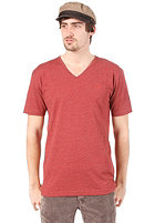 CLEPTOMANICX Ligull S/S T-Shirt heather dried tomato