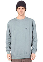CLEPTOMANICX Ligull Sweatshirt heather goblin blue