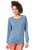 CLEPTOMANICX Lodato L/S Shirt captains blue