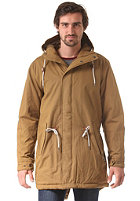 CLEPTOMANICX Long Parka Jacket peanut brown