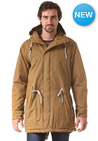 CLEPTOMANICX Long Parka Jacket peanut brown