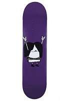 CLEPTOMANICX Metal Toast Skateboard purple 7,75