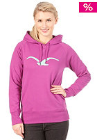 CLEPTOMANICX Move Hooded Sweat fresh berry