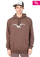 CLEPTOMANICX Mowe Hooded Sweat brown