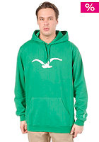 CLEPTOMANICX Mowe Hooded Sweat jolly green
