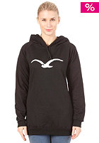 CLEPTOMANICX Mowe Long Hooded Sweat black