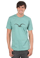 CLEPTOMANICX Mowe S/S T-Shirt berly green
