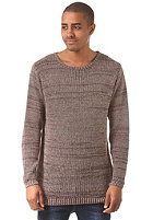 CLEPTOMANICX Multicolor Knit Sweat brown