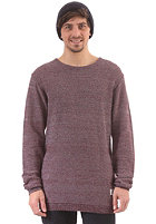 CLEPTOMANICX Multicolor Knit Sweat dark navy