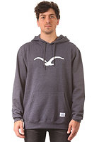 CLEPTOMANICX M�we Hooded Sweat heather dark navy/white