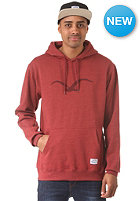 CLEPTOMANICX M�we Hooded Sweat heather dried tomato