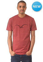 CLEPTOMANICX M�we S/S T-Shirt heather dried tomato