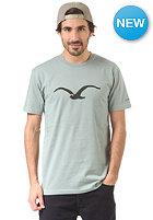 CLEPTOMANICX M�we S/S T-Shirt heather dusty green