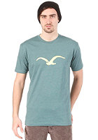 CLEPTOMANICX M�we S/S T-Shirt heather spruce green