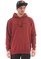 CLEPTOMANICX M�we Tonal Hooded Sweat heather dried tomato